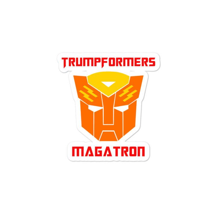 MAGATRON Orange stickers