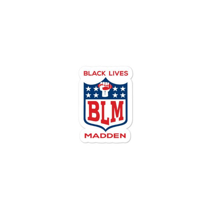 Black Lives Madden stickers