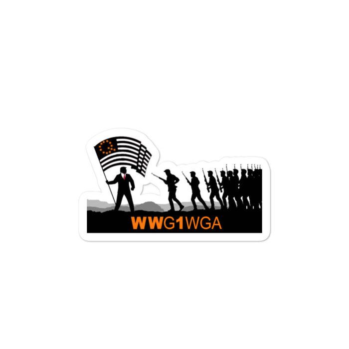 WWG1WGA Qanon stickers