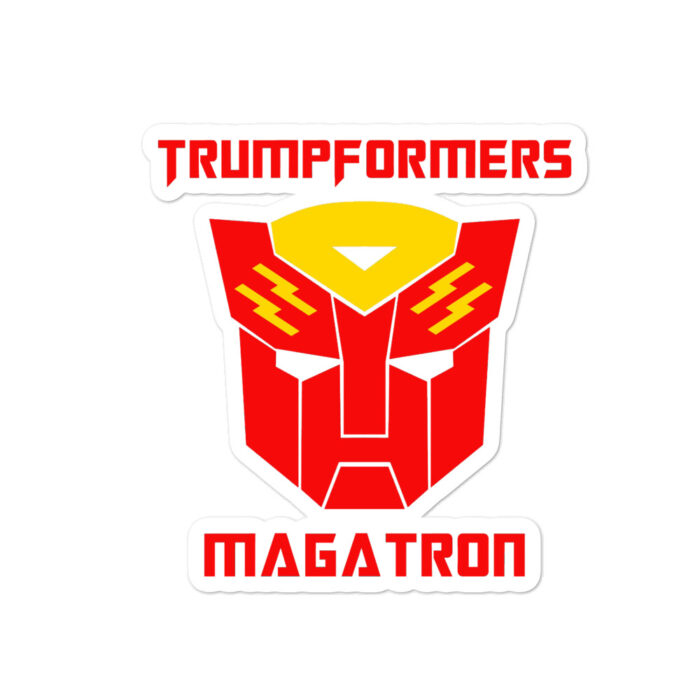 MAGATRON Red stickers