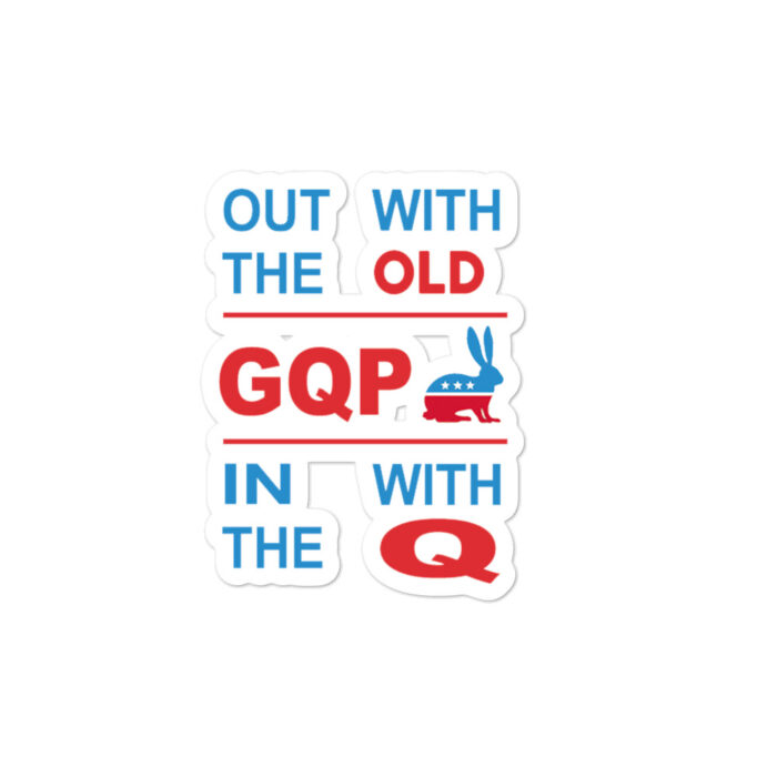 Out With Od In With Q stickers