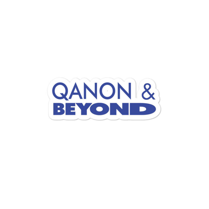 Qanon and Beyond stickers