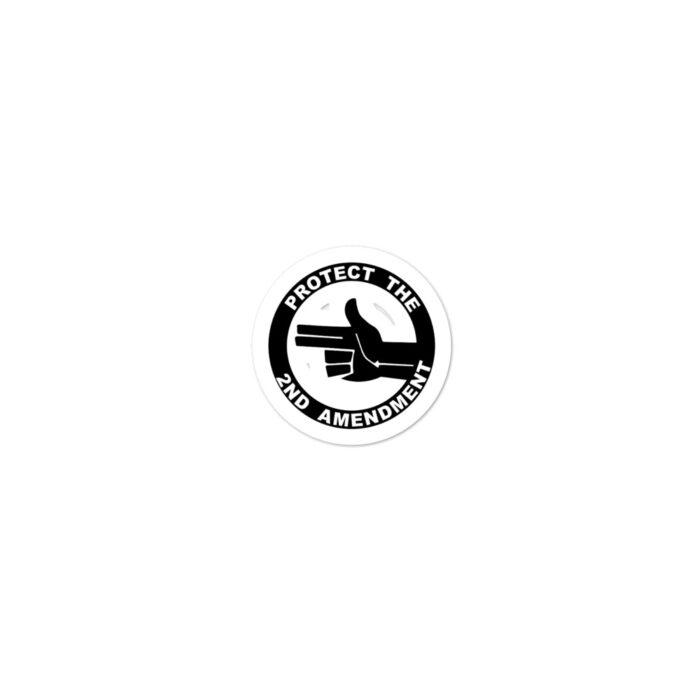 2nd Amendment Left Hand stickers