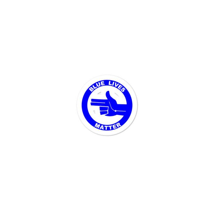 All Blue BLM (L) stickers