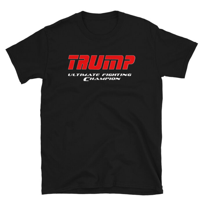 Trump UFC Red – White T-Shirt