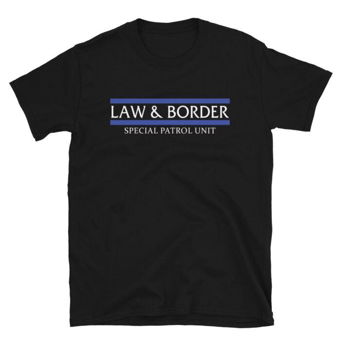 Law & Border White T-Shirt