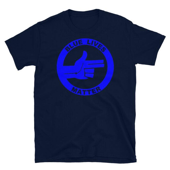 All Blue BLM (R) T-Shirt