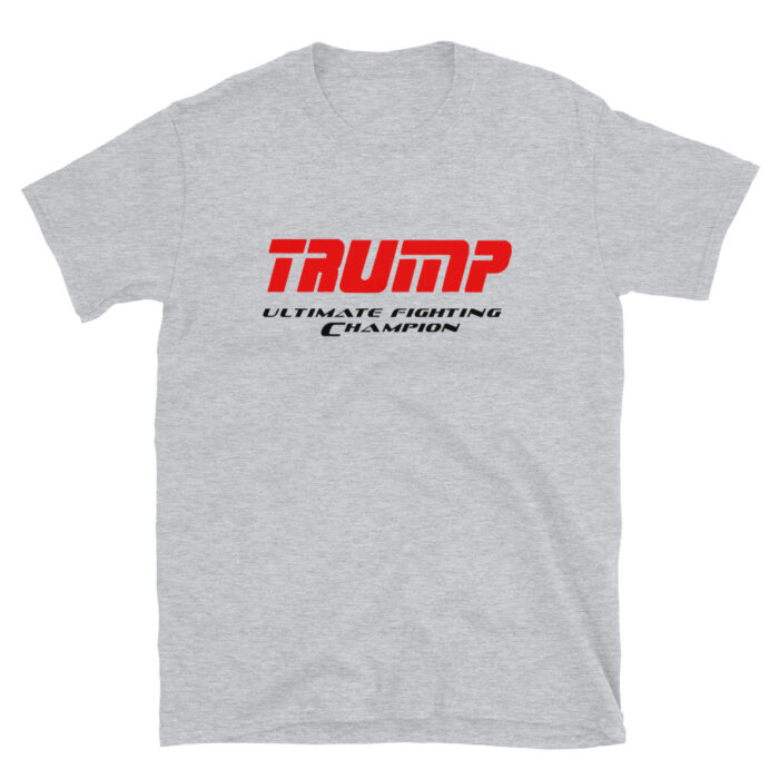 Trump UFC Red – Black T-Shirt