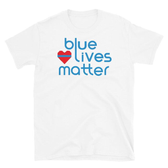 Blue Lives Heart T-Shirt