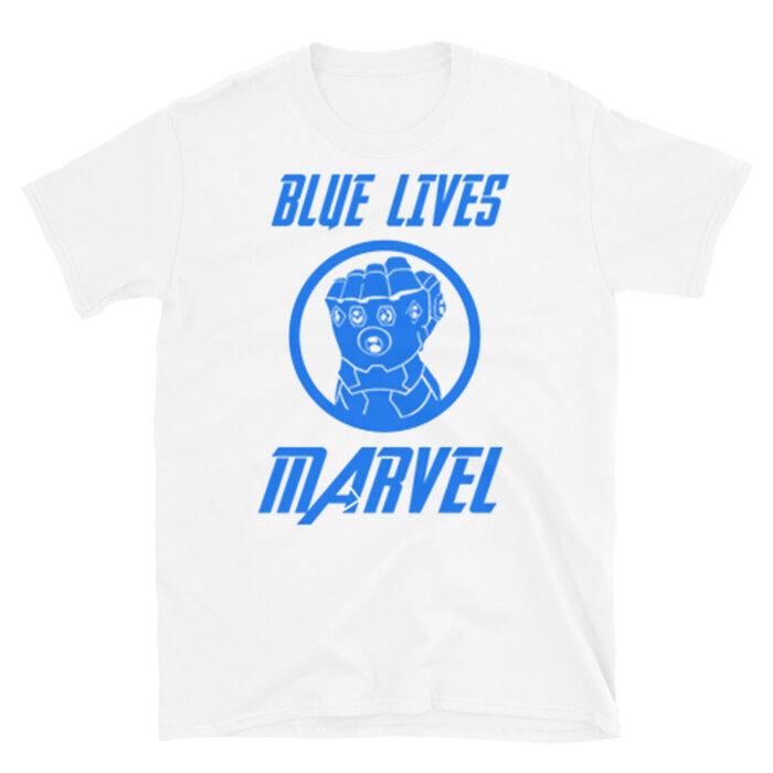 Blue Lives Marvel T-Shirt