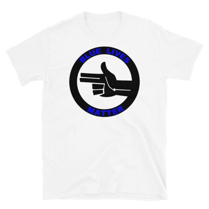 Official Blue Lives Left Hand T-Shirt