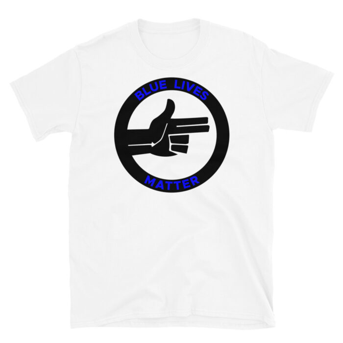 Official Blue Lives Right Hand T-Shirt