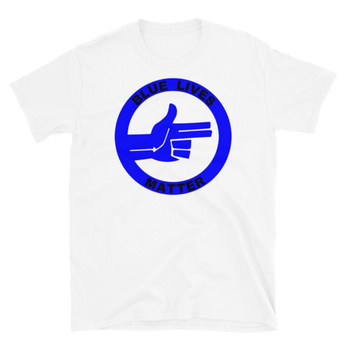 All Blue Blue Lives Matter Right (Black) T-Shirt