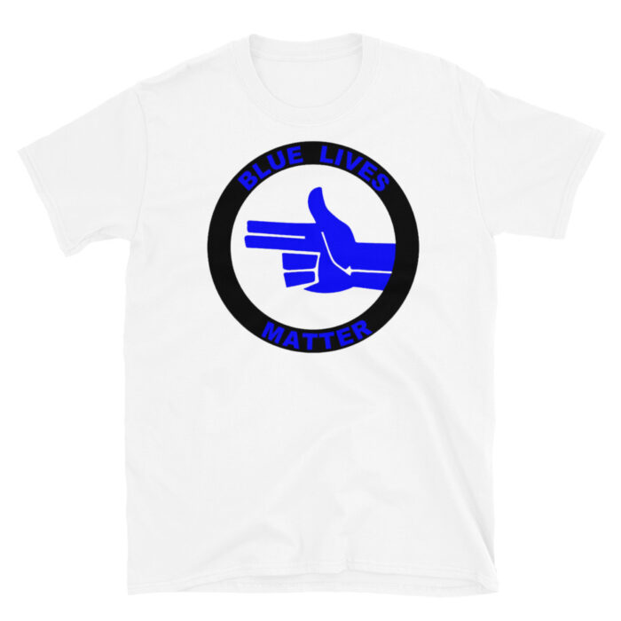 Blue Lives Blue Left Hand T-Shirt