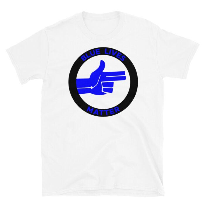 Blue Lives Blue Right Hand T-Shirt