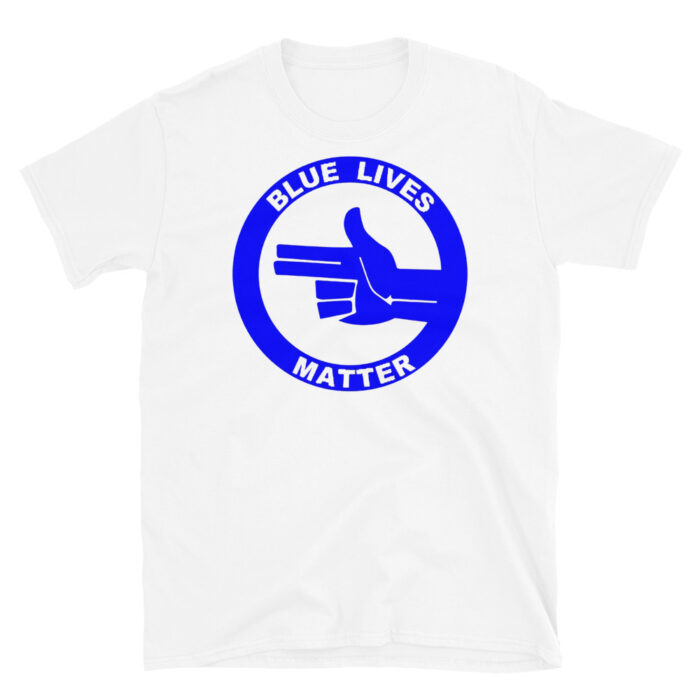 All Blue BLM (L) T-Shirt