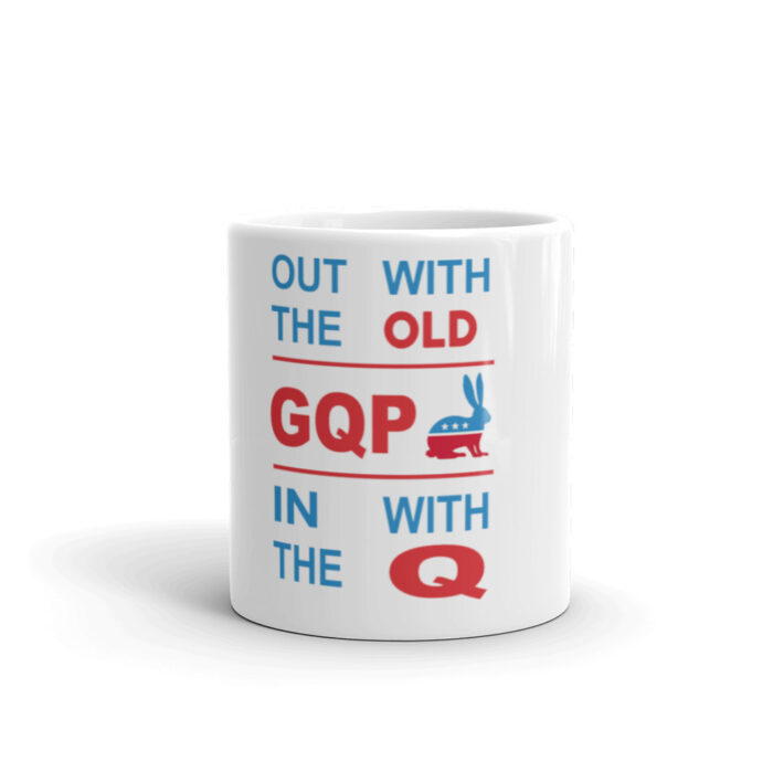 Out With Od In With Q Mug
