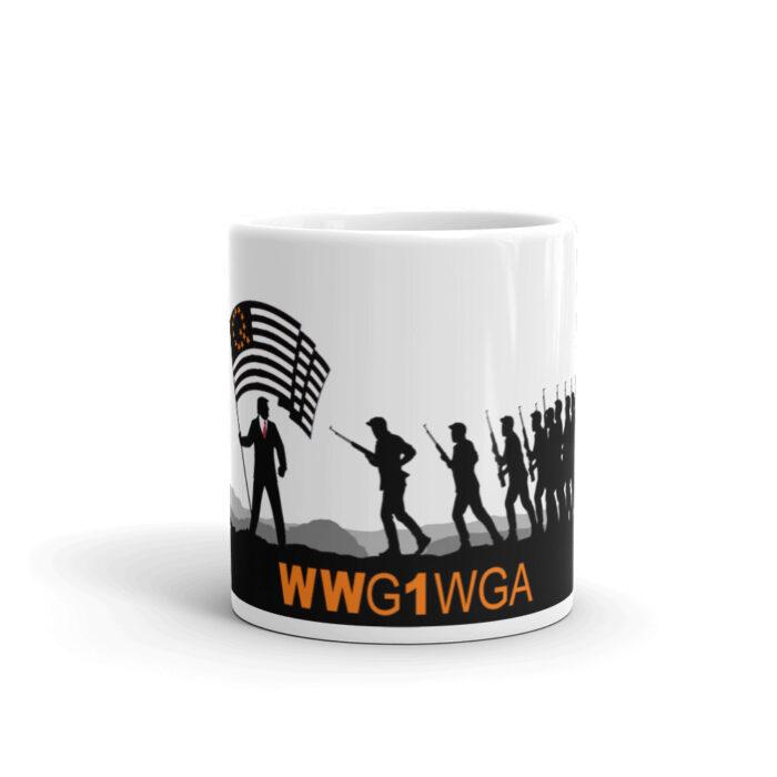 WWG1WGA Qanon Mug