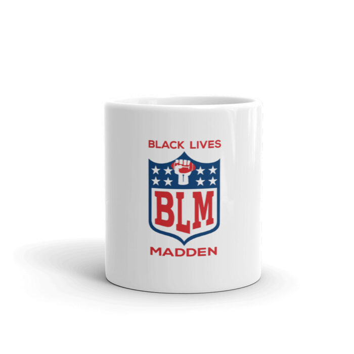Black Lives Madden Mug
