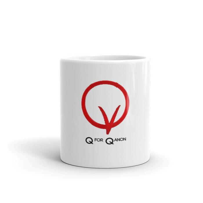Q Vendetta Black Mug