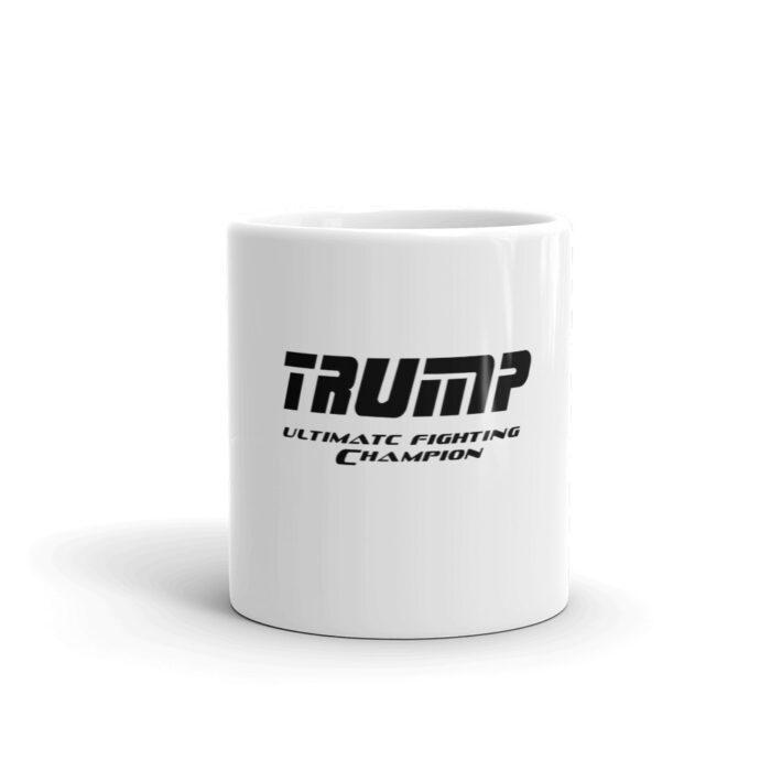 Trump UFC Black Mug