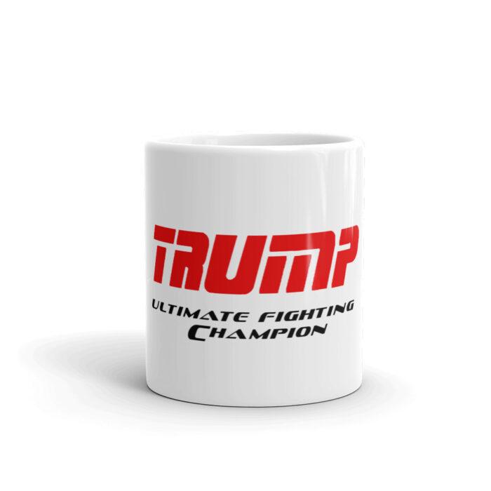 Trump UFC Red Black Mug