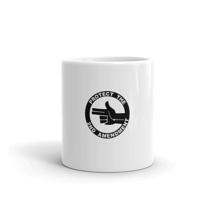2nd Amendment Left Hand Mug