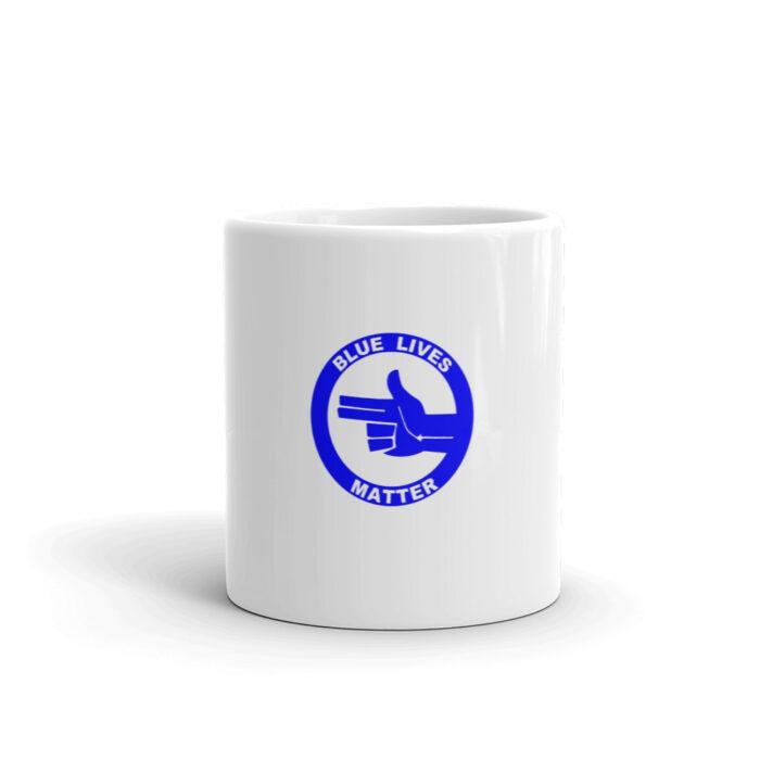 All Blue BLM (L) Mug