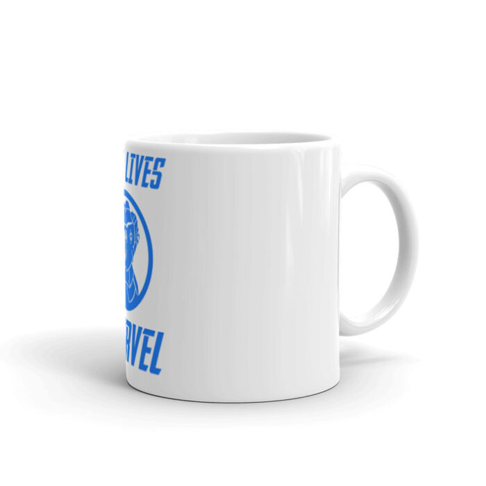 Blue Lives Marvel Mug