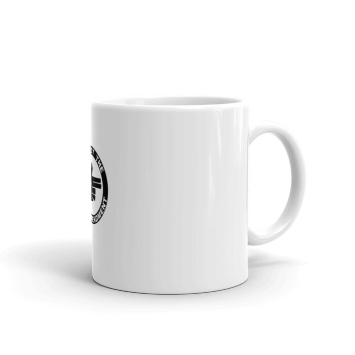 2nd Amendment Right Hand Mug