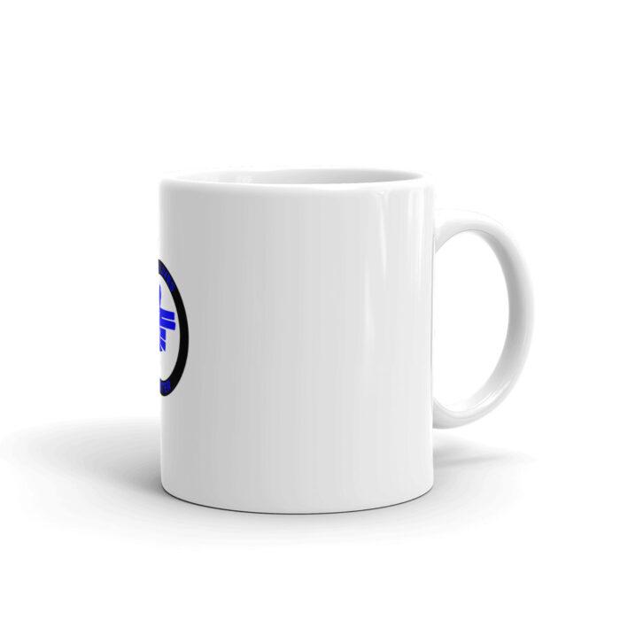 Blue Lives Blue Right Hand Mug